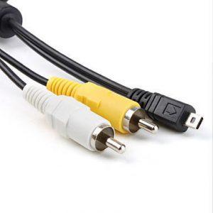 Кабель AV для фотоаппаратов Sony Mini B 8-pin AV RCA